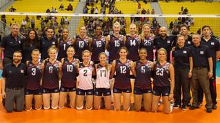 2016 世界女排大獎賽香港站 — 美國隊