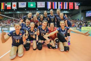 2016 世界女排大獎賽香港站 — 中國隊