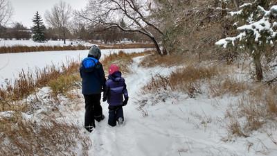 Wandering Wednesdays - Winter Edition Parc A.E. Wilson