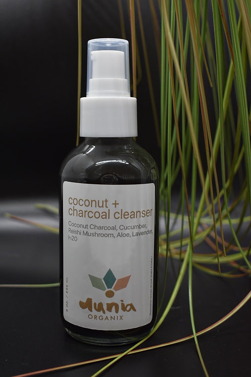 Coconut + Charcoal Cleanser