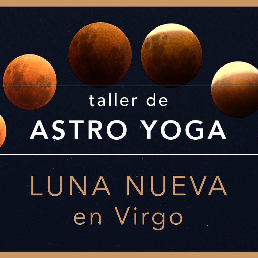Luna nueva en Virgo