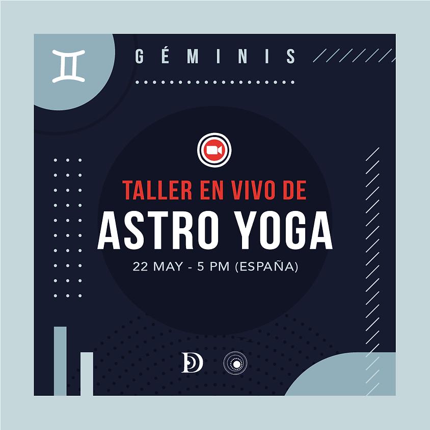 GÉMINIS - Taller de Astro Yoga