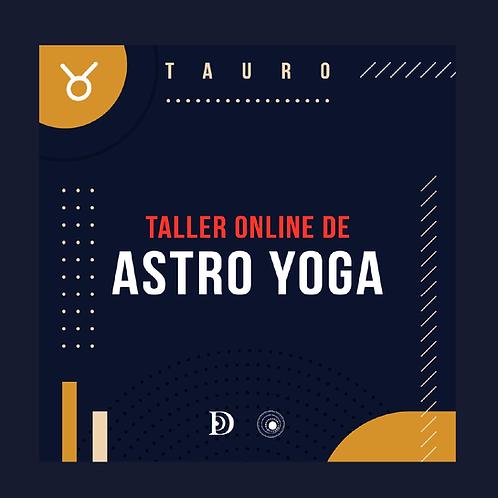 Astro Yoga Tauro