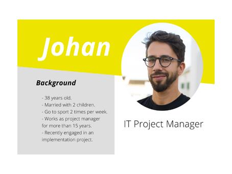 Meet Johan, the meeting man !