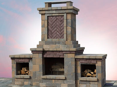 The Berkshire Fireplace