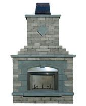 Pre-Packaged Olde Englsih Paver Fireplace