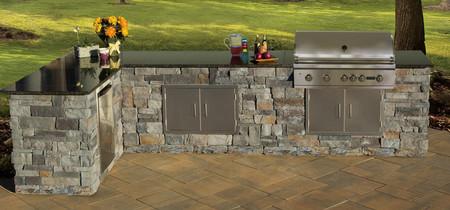 Stone Veneer Kitchen