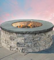 Garden Wall Round Gas Firepit
