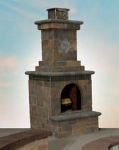 Olde English Fireplace