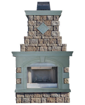 Maytrx Wall Fireplace