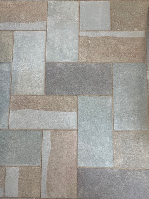 New York Bluestone Thermal Flagging