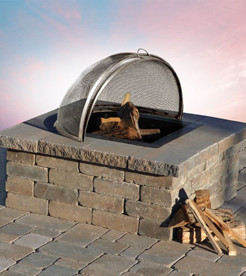 Olde English Square Wood Firepit