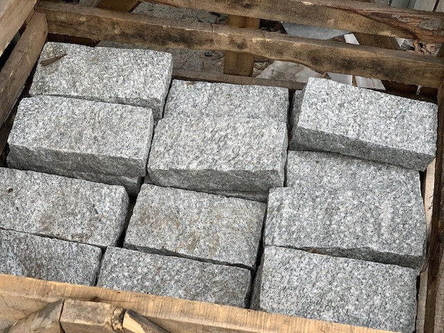Bush Hammered Pavers