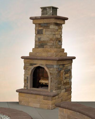 Canyon Ledge Fireplace
