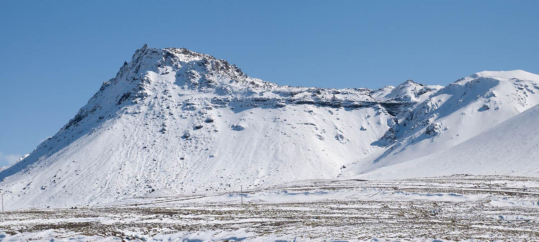 Vífilsfell að vetri.