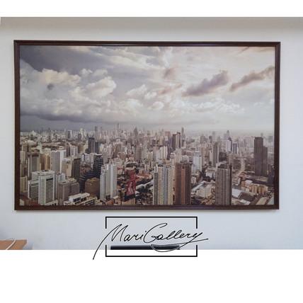 Картина Панорама города