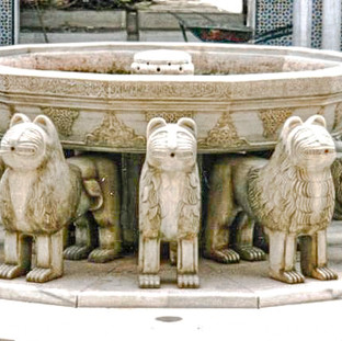 Réplique de l'Alhambra Blanco Macael