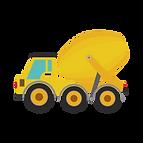 concrete truck graphic