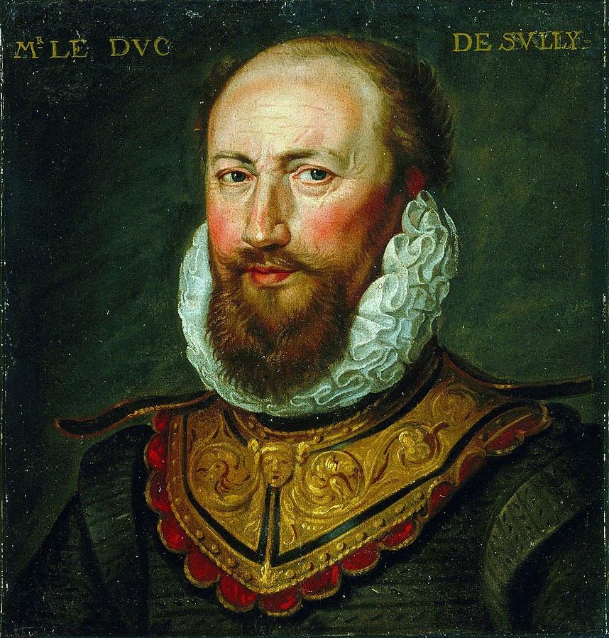 Portrait de Maximilien de Béthune, duc de Sully de la galerie Saint-Germain-Beaupré