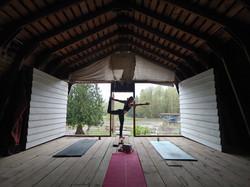 Barnyard Yoga Practice