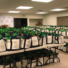 Prepackaged tote bags
