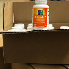 donated vitamin c supplements