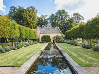 Temple Guiting Manor and Barns, Cotswolds