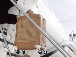 Aviteur Luggage by Patricia Gucci