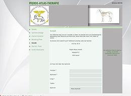 Pferde Atlas Therapie
