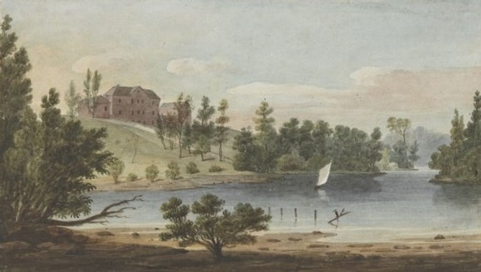 The Female Orphan School around 1825, by