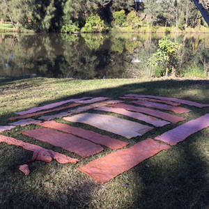 Burramattagal imprints: A site specific  installation