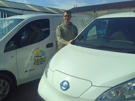 Organic Food Company Are Driving Electric