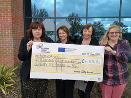 The Green Team Receives Grant for Over £6,800