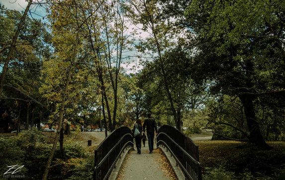 Fall day in Boston