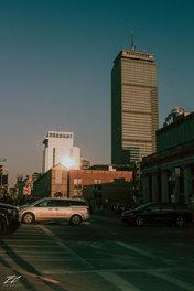 Golden Hour in Boston