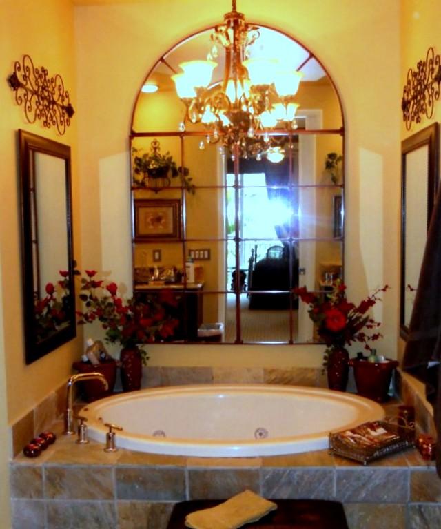 roman tub bathroom
