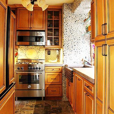 Tuscan Italian kitchen design