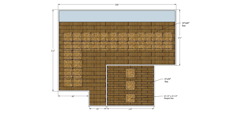 Parquet Floor Plan