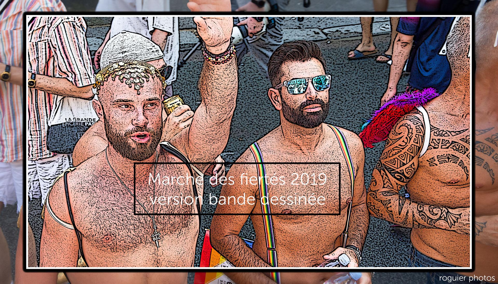 Marche des fiertés 2019 - version BD