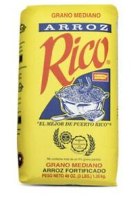 Rico Arroz Rice 3lbs bag