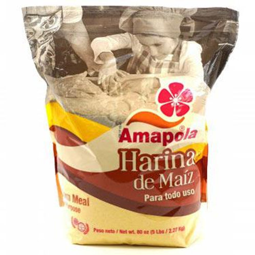 Amapola Harina Maiz 5lbs