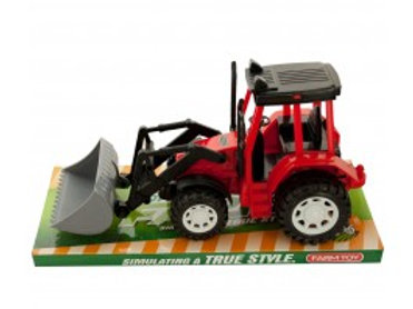 Friction Powered Toy Farm Tractor