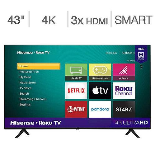 "Hisense 43"" Class - R6 Series - UHD LED LCD TV"