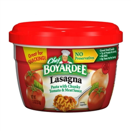 Chef Boyardee Microwaveable Lasagna - 7.5 oz.