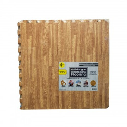 Anti-Fatigue Interlocking Flooring 4 Pack