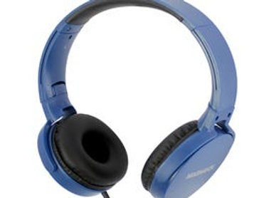 MAGNAVOX Foldable Stereo Headphones in Blue