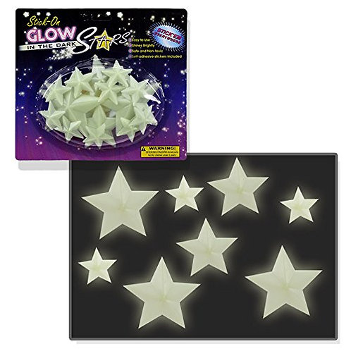 Stick-on Glow in the Dark Stars