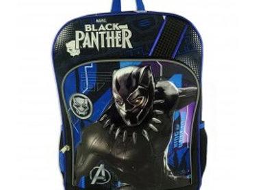 "Marvel's Black Panther 16"" Avengers Backpack w/ Bottle Holder"