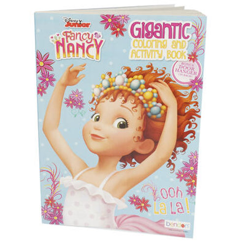 Fancy Nancy Gigantic Coloring and Activity Book