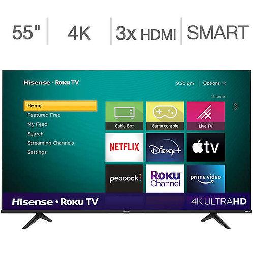 "Hisense 55"" Class - R6 Series - 4K UHD LED LCD TV"